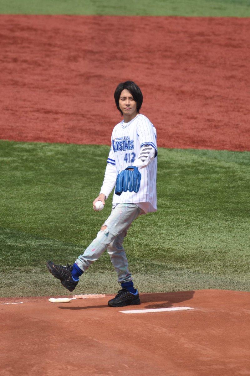 【山P】横浜スタジアムで山下智久が始球式。サプライズの登場に野球ファンも大興奮!