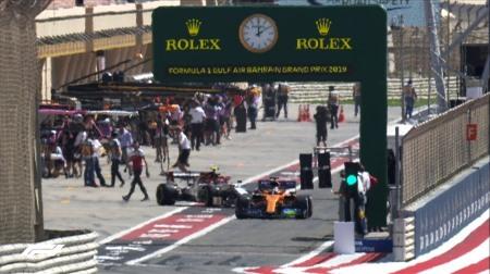 2019年F1第2戦バーレーンGP、FP1結果