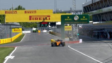 2019年F1第7戦カナダGP、FP1結果