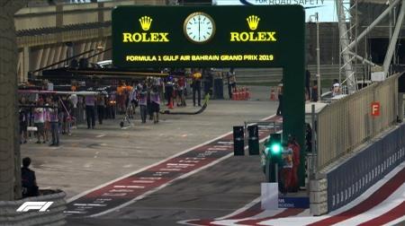 2019年F1第2戦バーレーンGP、FP2結果