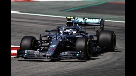 2019年F1第5戦 スペインGP、PPはボッタス