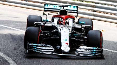 2019年F1第6戦 モナコGP、PPはハミルトン