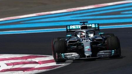 2019年F1第8戦 フランスGP、PPはハミルトン