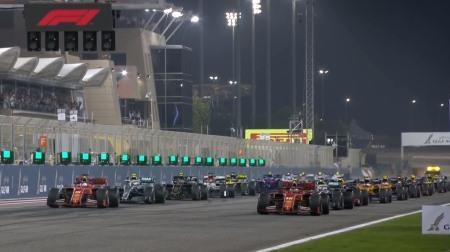 2019年F1第2戦のスタート