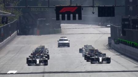 2019年F1第4戦のスタート