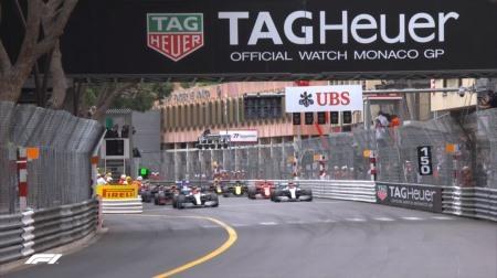 2019年F1第6戦のスタート