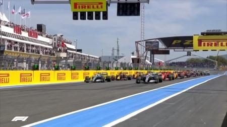 2019年F1第8戦のスタート
