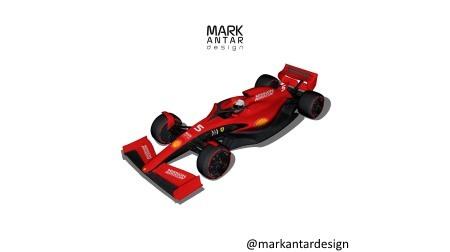 2021年F1マシンの最新コンセプト