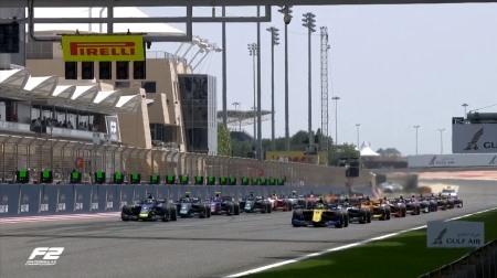 2019F2バーレーン決勝レース1結果