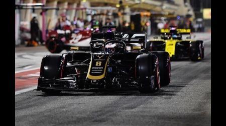 F1バーレーンGP予選:グロージャンに3グリッド降格ペナルティ