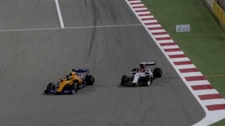 マクラーレンのノリスがライコネンをおさえて初入賞@F1バーレーンGP