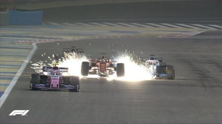 散々なレースをしたベッテル@F1バーレーンGP