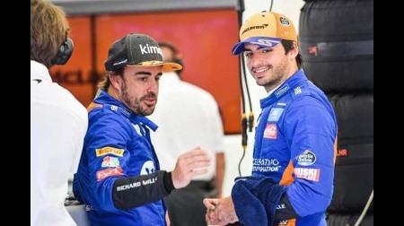 アロンソ、F1復帰について冗談をかます
