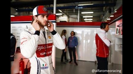 ジョビナッツィ、またしても活躍できず@F1中国GP