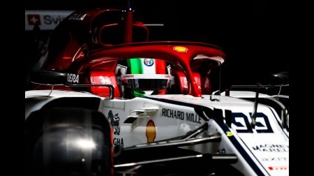ジョビナッツィ、F1アゼルバイジャンGPは10グリッド降格