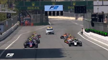2019F2アゼルバイジャン決勝レース1結果