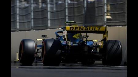 ルノーF1、マシンバランスに苦しむ@F1アゼルバイジャンGP