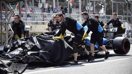 ウィリアムズ、F1アゼルバイジャンGPプロモーターから損害賠償へ