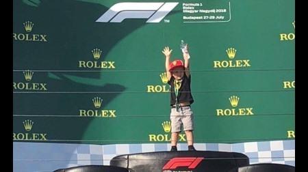 ライコネンの息子がレースデビュー?