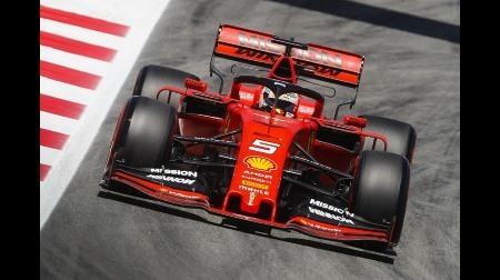 フェラーリのベッテル、現状最速はメルセデス