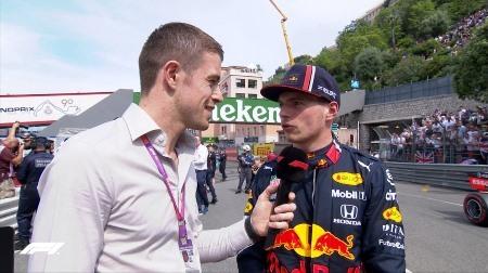 フェルスタッペン、予選3位に「ハッピー」@F1モナコGP