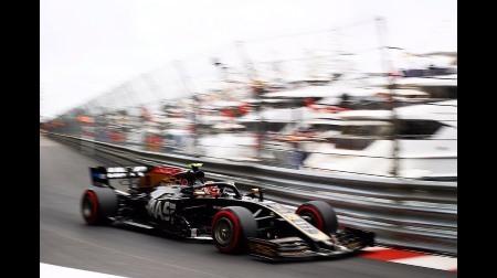 ハースが意外にも好走@F1モナコGP予選