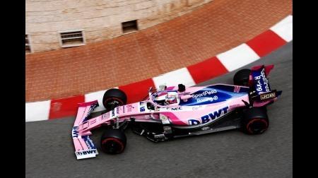 ペレス、マーシャルを轢きそうになっていた@F1モナコGP