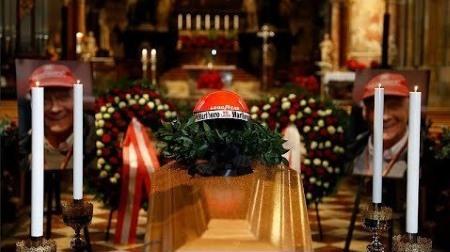 ニキ・ラウダの葬儀