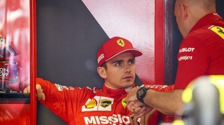 フェラーリCEOがF1モナコGPのQ1敗退の件でルクレールに謝罪