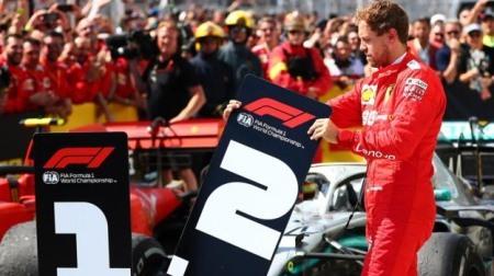 フェラーリ、ベッテルが勝利を失った裁定について再審請求