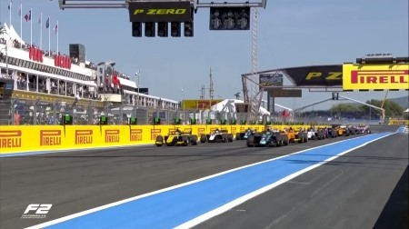 2019F2フランス決勝レース1結果