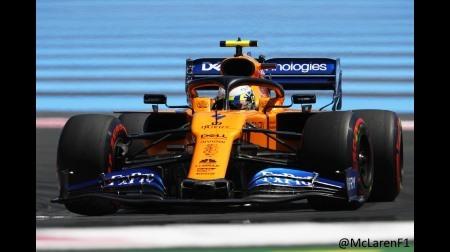 マクラーレンが3強に割って入る5位&6位@F1フランスGP予選