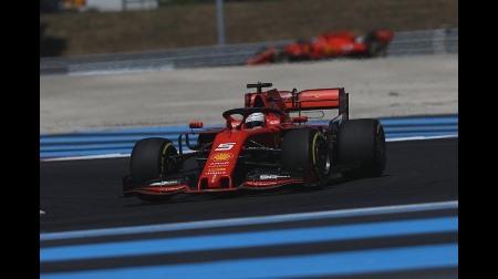 ベッテル、4列目に沈む@F1フランスGP予選