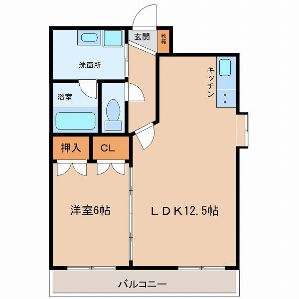 エンブレーマ西池(5号室)