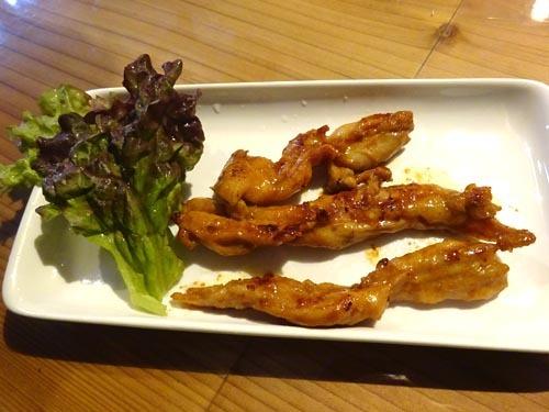 07鶏せせり焼き赤味噌