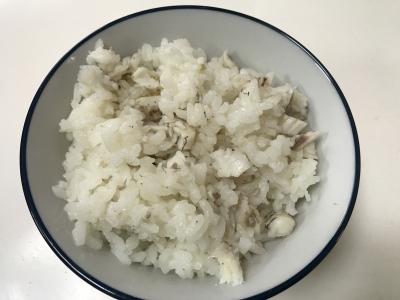 メジナの混ぜご飯