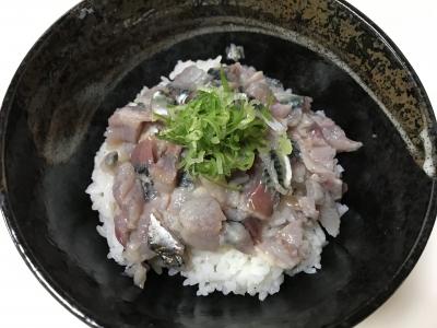 シメサバ丼