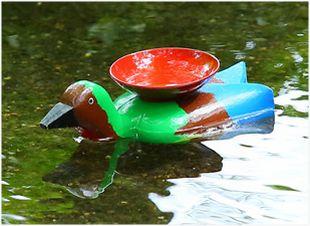 京都 城南宮の曲水宴の羽觴