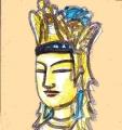 法隆寺釈迦三尊 (1)