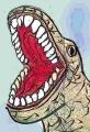 麺麭あくび鳥恐竜