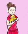 龍猫が黄色くなった黄疸かしら