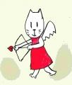 龍猫がキューピット