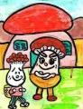 麺麭キノコの国まったけまんシメジマン (1)