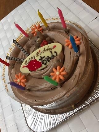 テールのケーキ