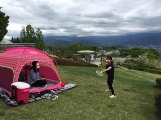 フルーツ公園テント