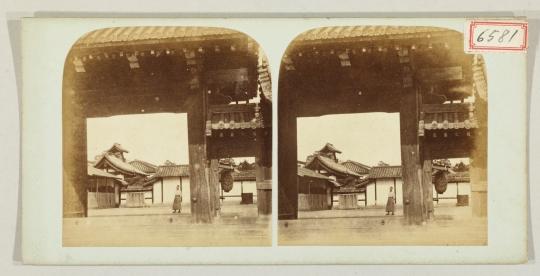 京都御所台所門