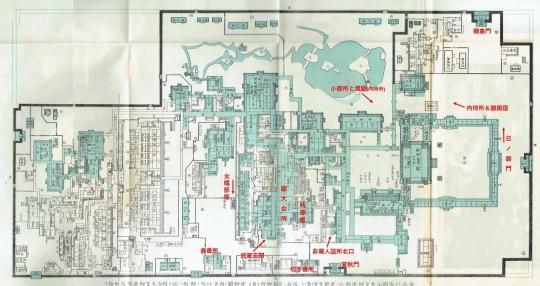 非蔵人詰所北口等の位置図のコピー