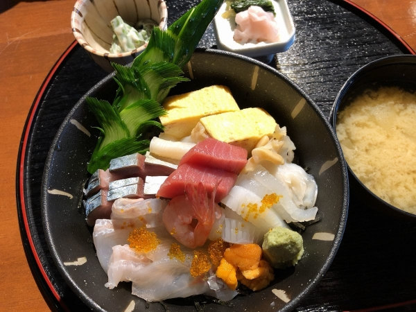 2019-04-23 海鮮丼