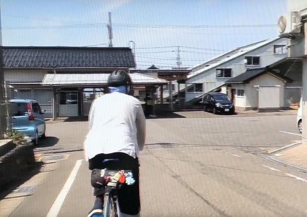 谷浜駅到着7