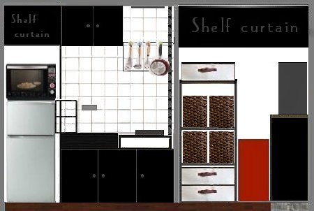 NANTONAKU キッチン改造 最終図面 間取